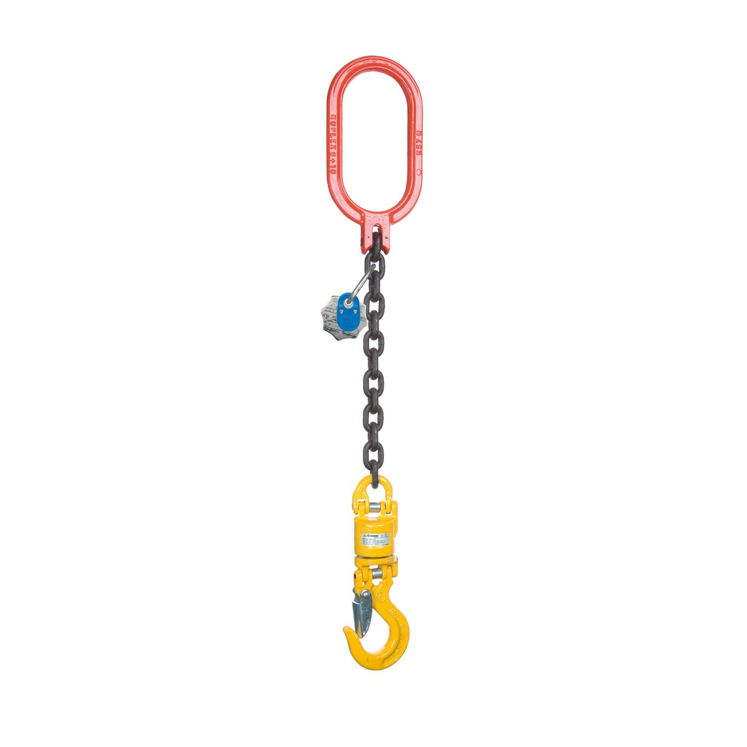 Extension of crane hook